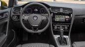 2017 VW Golf (facelift) interior leaked image