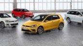 2017 VW Golf (facelift) range leaked image