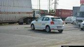 2017 VW Polo GT TDI rear three quarter spied