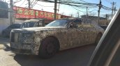 2018 Rolls-Royce Phantom front three quarters spy shot China