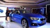 BMW 1 Series sedan front three quarter world debut
