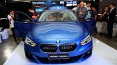 BMW 1 Series sedan front world debut