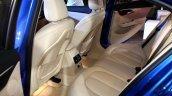 BMW 1 Series sedan rear seat world debut