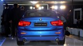 BMW 1 Series sedan rear world debut