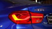 BMW 1 Series sedan taillamp world debut
