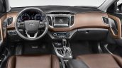 Brazilian-spec Hyundai Creta interior dashboard
