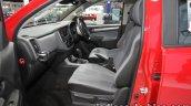 Chevrolet Colorado Z71 front seats at 2016 Thai Motor Expo