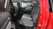 Chevrolet Colorado Z71 rear seats at 2016 Thai Motor Expo