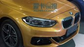 China-made BMW 1 Series sedan front end photographed