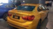 China-made BMW 1 Series sedan rear quarter photographed