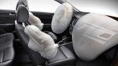 Chinese-spec 2017 Hyundai Verna airbags