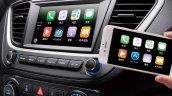 Chinese-spec 2017 Hyundai Verna infotainment system