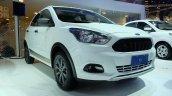 Ford Ka Trail (Figo Cross) front quarter unveiled Brazil