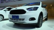 Ford Ka Trail (Figo Cross) headlamp bumper grille unveiled Brazil
