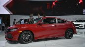 Honda Civic Si Prototype Rallye Red Pearl at 2016 LA Auto Show