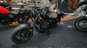 Honda Rebel 500 2016 Thai Motor Expo black front three quarter customised