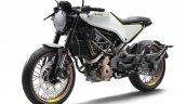 Husqvarna Vitpilen 401 white front three quarters