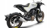 Husqvarna Vitpilen 401 white rear three quarters