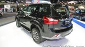 Isuzu MU-X rear three quarters left side at 2016 Thai Motor Expo