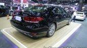 Lexus LS 600hL rear three quarters at 2016 Thai Motor Expo