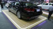 Lexus LS 600hL rear three quarters left side at 2016 Thai Motor Expo