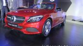 Mercedes C Class Cabriolet front quarter launched