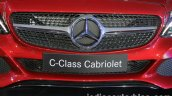 Mercedes C Class Cabriolet grille launched