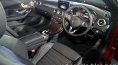 Mercedes C Class Cabriolet interior launched