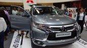 Mitsubishi Montero Sport front at 2016 Bogota Auto Show