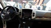 Mitsubishi Montero interior at 2016 Bogota Auto Show