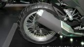 New Kawasaki Versys X300 exhaust at Thai Motor Expo