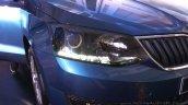 New Skoda Rapid (facelift) headlamp launch images