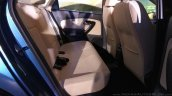 New Skoda Rapid (facelift) rear seat launch images