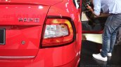 New Skoda Rapid (facelift) taillamp launch images