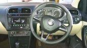 New Skoda Rapid (facelift) steering wheel launch images