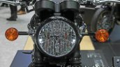 New Triumph T100 Black headlamp at Thai Motor Expo