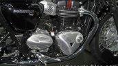 New Triumph T100 engine at Thai Motor Expo