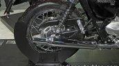 New Triumph T100 rear wheel at Thai Motor Expo
