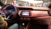 Nissan Kicks dashboard at 2016 Bogota Auto Show