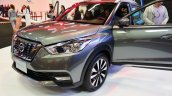 Nissan Kicks front three quarters at 2016 Bogota Auto Show