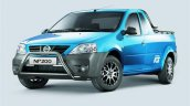 Nissan NP200 ICE front three quarters left side