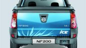 Nissan NP200 ICE rear
