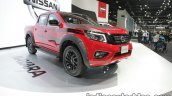 Nissan Navara Black Edition front three quarters at 2016 Thai Motor Expo