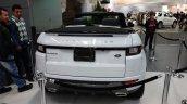 Range Rover Evoque Convertible rear at 2016 Bogota Auto Show second image