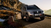 Renault Duster Extreme Concept front three quarters in motion