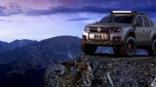 Renault Duster Extreme Concept front three quarters standstill