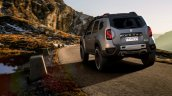 Renault Duster Extreme Concept rear three quarters in motion