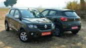 Renault Kwid 1.0L Easy-R AMT front and rear Review