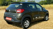 Renault Kwid 1.0L Easy-R AMT rear three quarter Review