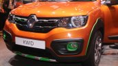 Renault Kwid Outsider front end unveiled Brazil